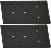 2er-Set Filter für Bauknecht Privileg Whirlpool HX 481010716911 Trockner Wärmepumpentrockner | Fein-Grob | 230 x 115 x 14mm | Schwammfilter Filtermatte Kondenstrockner | 100%   Germany Sponge