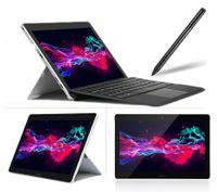 LincPlus 2 in 1 Tablet Intel Celeron N4100 8 GB RAM 128 GB SSD Netbook mit Convertible Tastatur und Touch Pen Win10 Notebook Laptop PC Computer Ebook