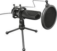 Trust GXT 232 Mantis Streaming Microphone, Farbe:Schwarz