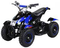 Mini-Elektro-Kinder-ATV Cobra 800 Watt Pocket Quad (Schwarz/Blau)