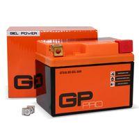 GP-PRO Gel-Batterie 12V 5Ah GTX4L-BS (ähnlich YB4L-B / YTX5L-BS / YTX4L-BS) (versiegelt / wartungsfrei)