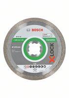 Bosch X-LOCK Diamanttrennscheibe Standard for Ceramic 125 x 22,23 x 1,6 x 7 mm