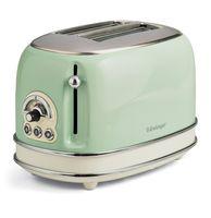 Vintage 2-Schlitz-Toaster grün
