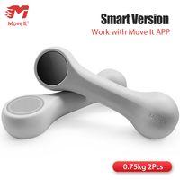 Xiaomi Youpin Move It Beat Hantel Tragbare Mini-USB-Aufladung Smart Sports Hantel Heim-Fitnessgeraete fuer Maenner Frauen