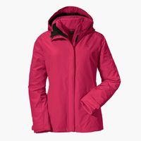 Schöffel 3in1 Tignes1 Winterjacke Pink - Damen, Größe:52