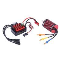 1pc Brushless Motor Wasserdicht 35A ESC Für Traxxas HSP 1/14 1/16 Teile 4700KV Farbe 4700 kV