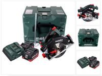 Metabo KS 18 LTX 57 Akku Handkreissäge 18 V 165 x 20 mm ( 601857840 ) + 2x 10,0 Ah Akku + Ladegerät + MetaLoc