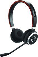 Jabra Evolve 65 MS stereo - Headset - on-ear - drahtlos - Bluetooth - mit Jabra LINK 360 Adapter