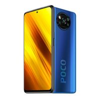 "Xiaomi Poco X3 NFC 6GB 64GB Cobalt Blue Handy Snapdragon 732G 6,67"" 64MP 5160mAh Dual SIM Smartphone"