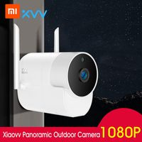 Xiaomi Youpin Xiaovv Outdoor-Panoramakamera 1080P HD Home Security ueberwachungskamera Wasserdicht Staubdicht Wireless WIFI IP-Cam Infrarot-Nachtsicht-Arbeit mit Mi Home APP