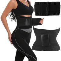 Damen Korsett Taillenformer Figurformender Waist Trainer Abnehmen Bauchweggürtel Bauch Weg Gürtel,Größe:  L.