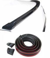 Kofferraumspoiler Heckspoiler Spoiler Lippe Carbon Schwarz für viele Fahrzeuge