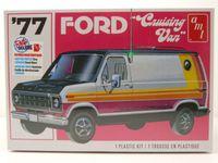 Ford Cruising Van 1977 Kunststoffbausatz Modellauto 1:25 AMT