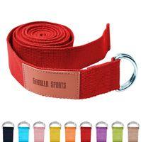Yogagurt in verschiedenen Farben - Rot