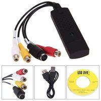 VHS Digitalisierer USB 2.0 Video/Audio Recorder Video Grabber Capture Adapter mit Audioaufnahme für CD Desktop Laptop Windows