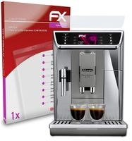 atFoliX FX-Hybrid-Glass Panzerfolie kompatibel mit DeLonghi PrimaDonna Elite Experience ECAM 656.85.MS Glasfolie