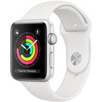 Apple watch series 3 8GB 38mm silber gehäuse mit weiß sport armband