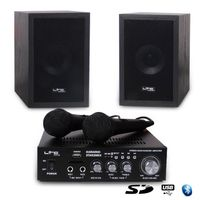 Ltc 10-7001 Karaoke Set Mit Usb/Sd Und Bluetooth