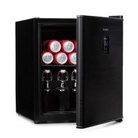 Klarstein Beer Baron Getränkekühler , Volumen: 46 Liter ,  , Temperatur: 0-10 °C , Touch-Bedienfeld , verstellbarer Gitterboden , schwarz