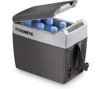 Thermoelektrische Kühlbox TCX-07 für Unterwegs, kühlt bis zu 25°C unter Aussentemperatur, erhitzt bis zu +65°C, Energiesparmodus, Tragegurt, Vol. 7 L, Auto 12 V und Netzkabel plus Adapter für 230 V/AC