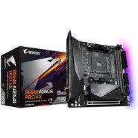 Gigabyte B550I AORUS PRO AX - AMD - Socket AM4 - AMD Ryzen 3 3rd Gen - 3rd Generation AMD Ryzen 5 -