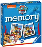 Ravensburger Paw Patrol Mini-Memory-Spiel Passende Bild-Schnapppaare Spiel fur Kinder ab 3 Jahren