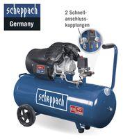 SCHEPPACH HC120DC Druckluft Kompressor 100L Luftkompressor 10bar Fahrwerk 2,2kW