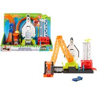 Hot Wheels City Super Space Shuttle Looping-Set, inkl. Spielzeugauto