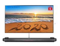 LG OLED77W9PLA, 195,6 cm (77 Zoll), 3840 x 2160 Pixel, OLED, Smart-TV, WLAN, Schwarz