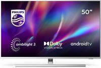 Philips 4K Ultra HD LED TV 127cm (50 Zoll)  50PUS8505/12 Triple Tuner, Android Smart TV Ambilight