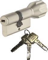 ABUS EC550 Knaufzylinder Länge Z40/K40mm (c=80mm) mit 3 Schlüssel, SKG** Bohrschutz