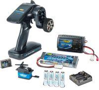 Carson RC Fernsteuerung Reflex Wheel PRO 3 Elektro Set 2.4Ghz + CS6 Servo