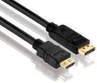 PureLink DisplayPort zu HDMI Kabel PureInstall 15,00m