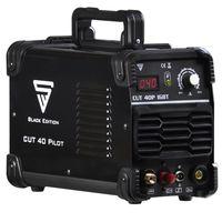 STAHLWERK CUT 40 Pilot IGBT Plasmaschneider mit 40 Ampere Pilotzündung bis 10 mm Schneidleistung