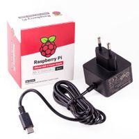 Raspberry Pi 15W USB-C Netzteil Schwarz EU