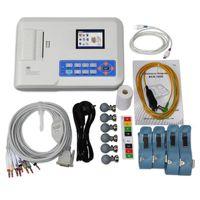 Digitaler 12-Kanal-EKG-Maschinenfarb-LCD-Elektrokardiograph mit 3-Kanal-ECG-Drucker, Download der USB-PC-Software, ECG300G
