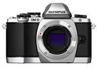 Olympus OM-D E-M10, 16,1 MP, 4608 x 3456 Pixel, Live MOS, Full HD, 396 g, Schwarz, Silber