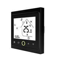 WiFi-Thermostat mit Touchscreen-LCD-Anzeige Woechentlicher programmierbarer, energiesparender, intelligenter Temperaturregler fuer die Wasserheizung 3A