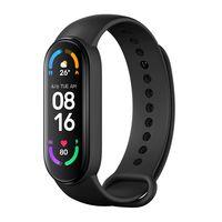 Xiaomi Mi Band 6 Fitness-Tracker 1,56 Zoll Bluetooth 5.0 AMOLED-Display Smartwatches schwarz