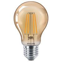 Philips LED Lampe ersetzt 35W, E27 Standardform A60, klar -Vintage, goldweiß, 400 Lumen, nicht dimmbar, 1er Pack [Energieklasse A++]