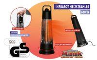 MAUK Heizer Infrarot Karbonfaser Standheizgerät für den Außen und Innen >Terrassenheizung< 300-600W