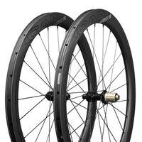 ICAN Carbon Laufräder AERO 50 Disc Rennrad Laufradsatz 50mm Drahtreifen Tubeless Ready Scheibenbremse 12x100 / 12x142mm Nur 1430g
