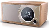 Sharp DR-450 Digital Radio, DAB / DAB+ / FM Radio / Bluetooth, 6 W in braun