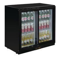 Polar Serie G Barkühlschrank mit 2 Schiebetüren 208L