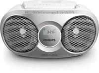 Philips AZ 215S/12 CD-Soundmaschine silber CD CD-R CD-RW Dynamic Bass Boost