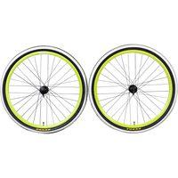 Galano Infinity 29 Zoll Laufräder MTB Räder Kompletträder Laufradsatz 29 x 2,10 Kenda vorne hinten Set Fahrrad, Farbe:schwarz, Ausführung:hinten