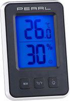 Digitales Thermometer + Hygrometer Wetterstation BLAU beleuchtetes Display Feuchtigkeitsmesser