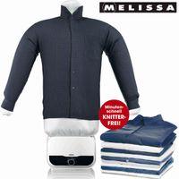 Melissa 16390055 automatischer 2in1 Bügler&Trockner Bügelpuppe für Hemden & Blusen