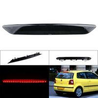 Rot LED Zusatz- 3.Bremsleuchte Bremslicht Dunkel Linse Für VW Polo 9N 9N3 BJ. 2002-2010