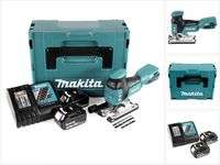 Makita DJV 181 RFJ Akku Pendelhubstichsäge 18V Brushless + 2x Akku 3,0Ah + Ladegerät + Makpac